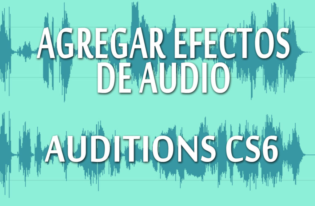 agregar efectos de audio