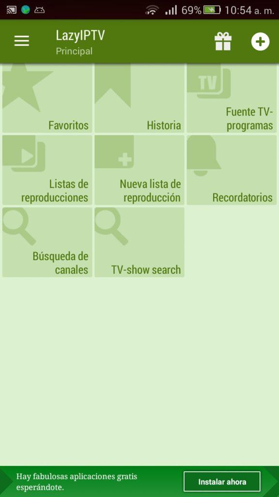 lista de reproduccion canales lazyiptv