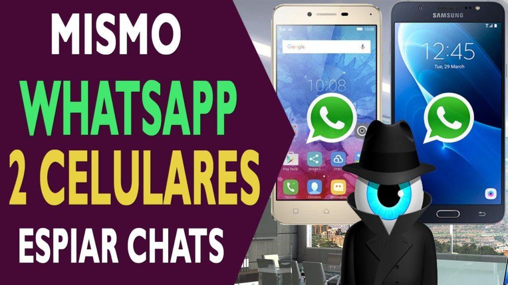 whatsapp en dos celulares