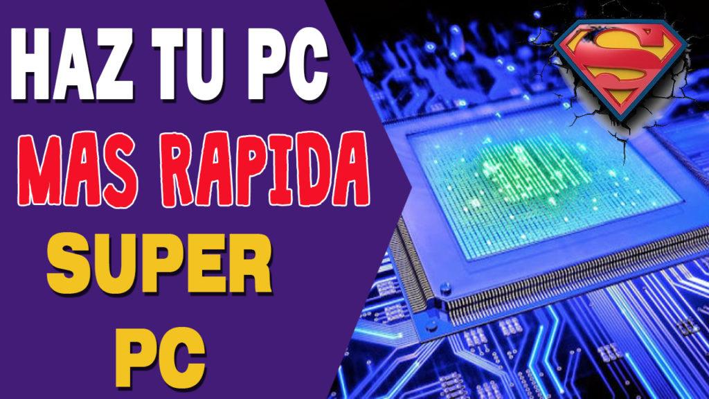 tener una computadora mas rapida