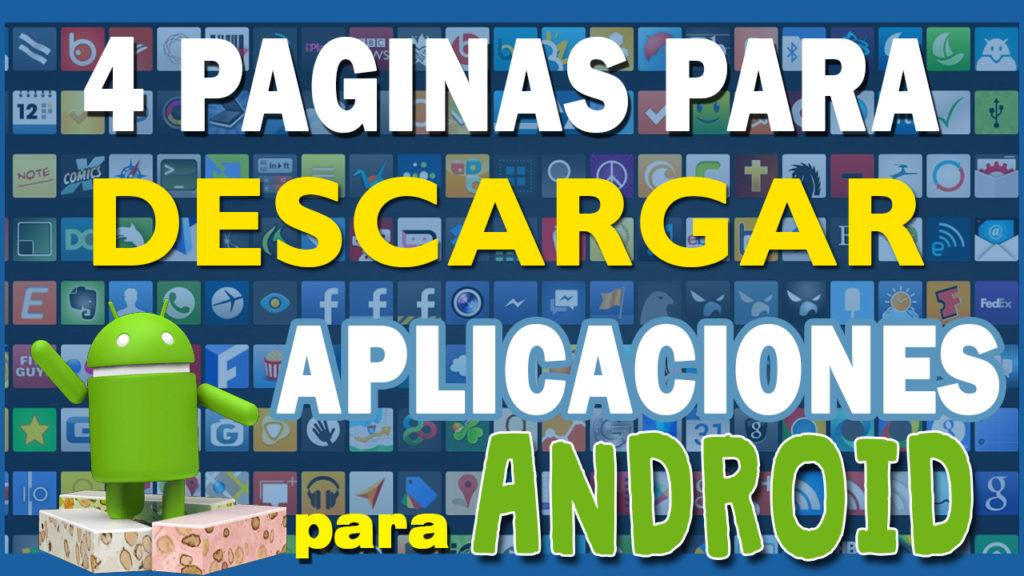 paginas para descargar aplicaciones andriod