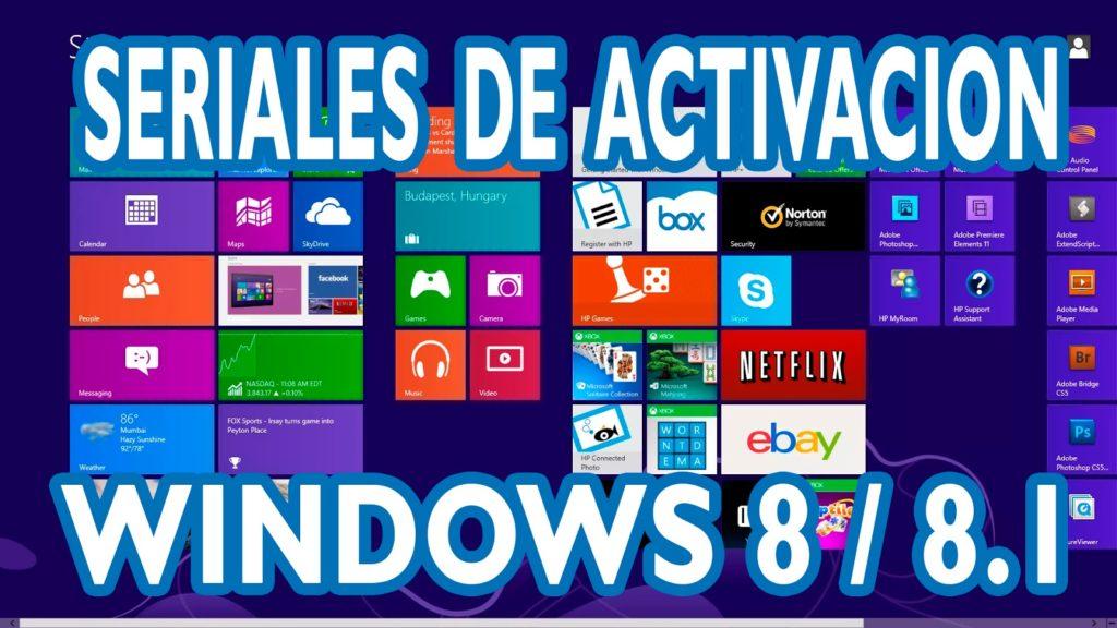 Serial Windows 8.1
