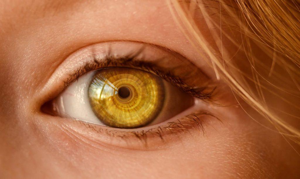 lentes de contacto con zoom