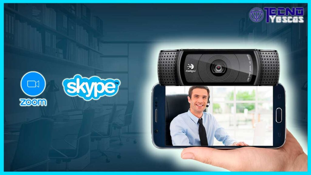 usar celular como webcam