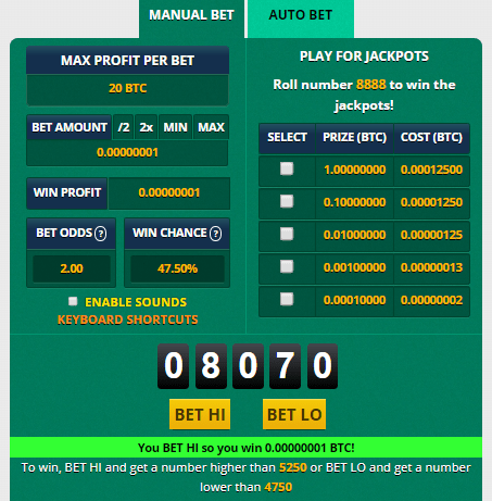manual bet freebitcoin