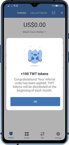 trust wallet token
