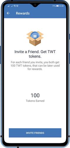 trust wallet TWT
