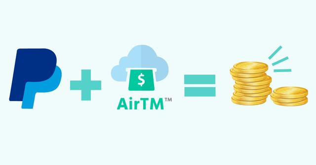verificar paypal con airtm
