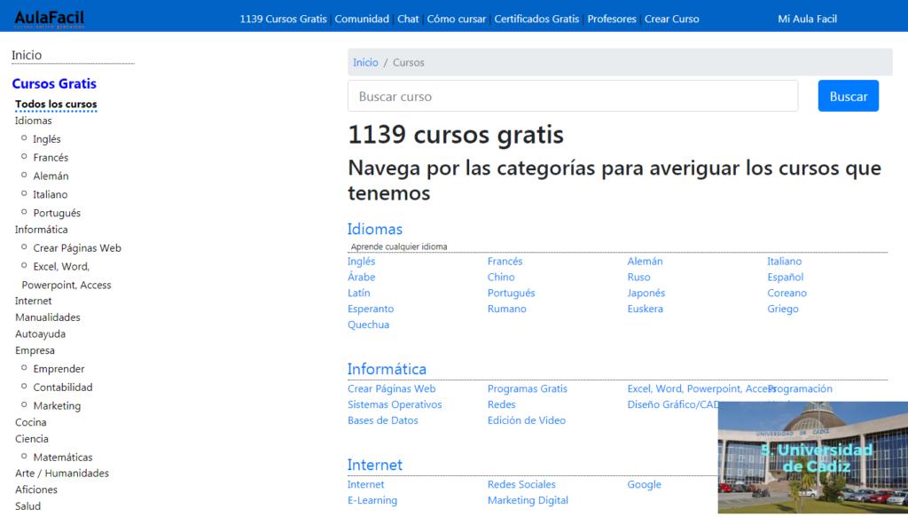 Curso,Gratis,Certificado,Online,Aprender,
